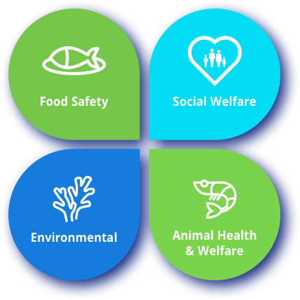 4 Pillars of Responsible Aquaculture